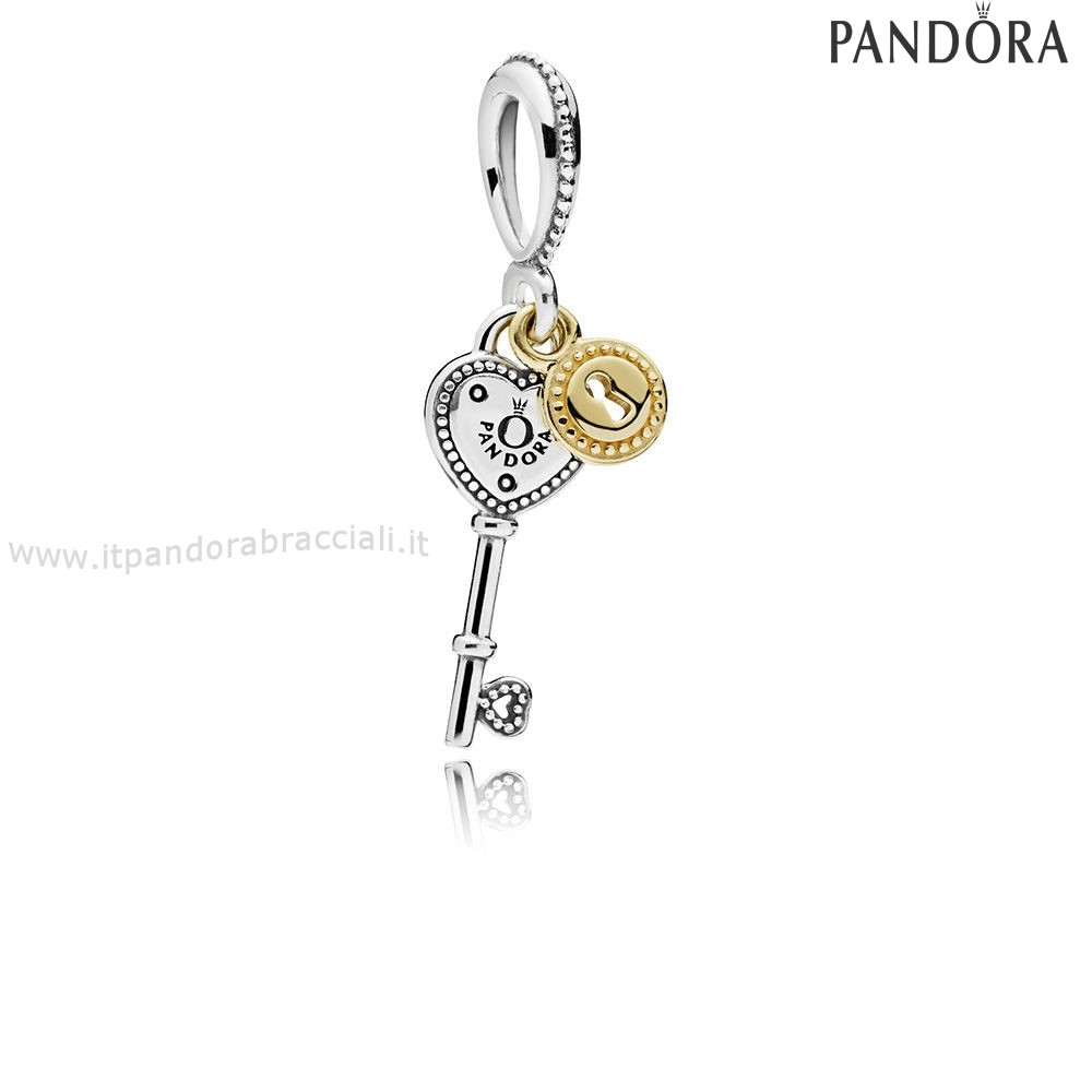 Offerte Pandora Chiave To My Cuore Dangle Charm