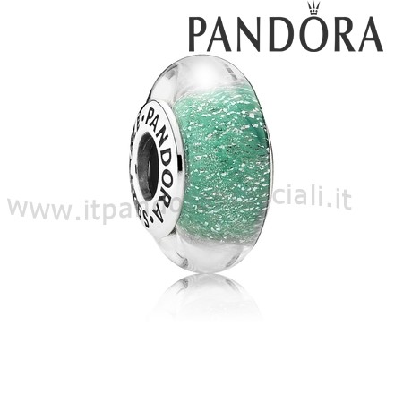 Offerte Pandora Disney Charms Ariel'S Colore Firma Charm Murano Bicchiere
