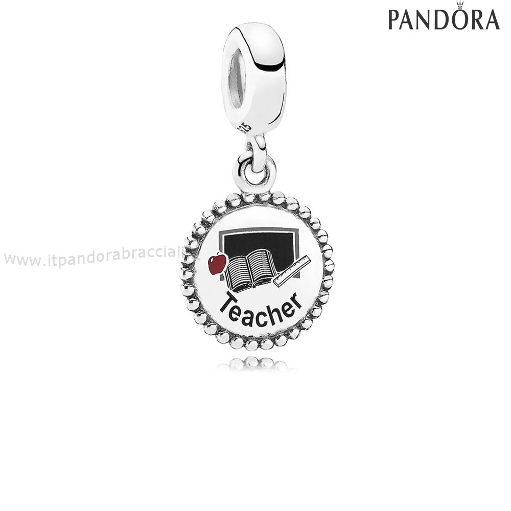 Offerte Pandora Teacher Dangle Charm Mixed Enamel