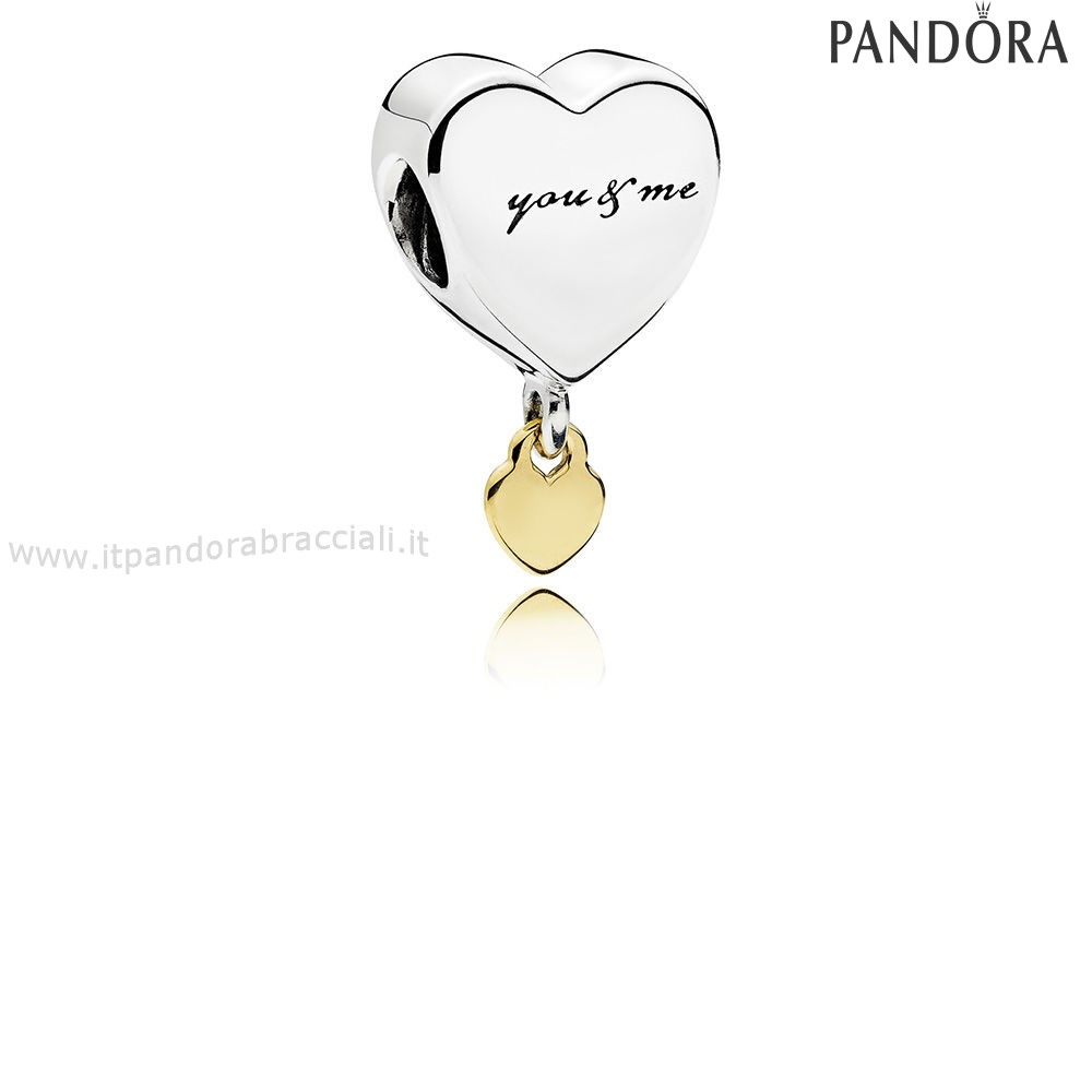 Offerte Pandora Two Cuores Dangle Charm